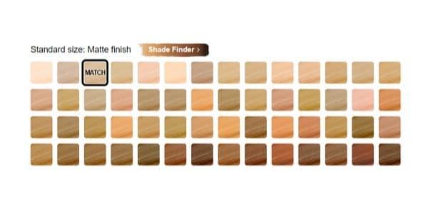 Estee Lauder Double Wear Shade Ranges