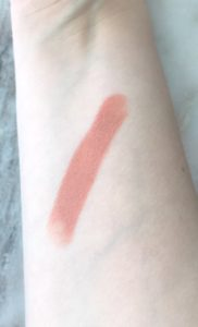 Too Faced Natural Nude Birthday Suit Lipstick Swatch