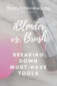 Beauty Blender Vs. Makeup Brush