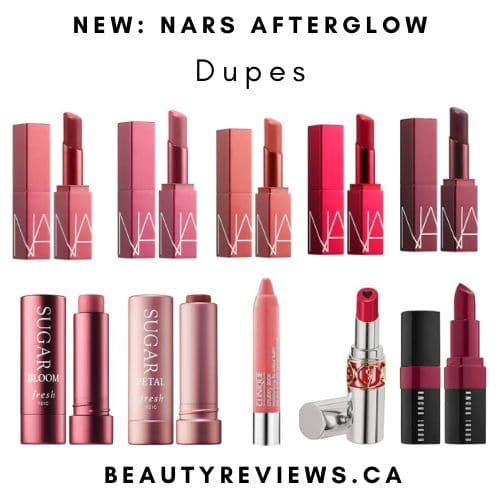 NARS Afterglow Lip Balm Dupes