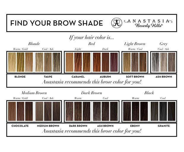 ABH Brow Wiz Swatches