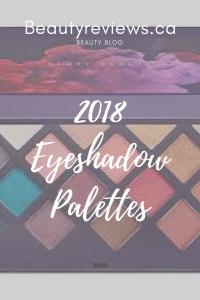 2018 Eyeshadow Palettes