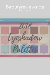 Natasha Denona Tropic 2018 eyeshadow palettes