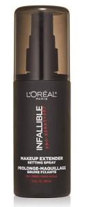 loreal infallible makeup setting spray