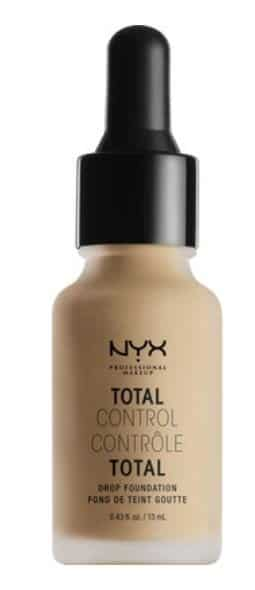 NYX drop Foundation