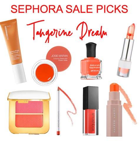 Sephora Sale Picks Orange