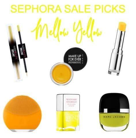 Sephora Sale Picks Yellow