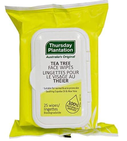 Face Wipes Tea Tree Oil