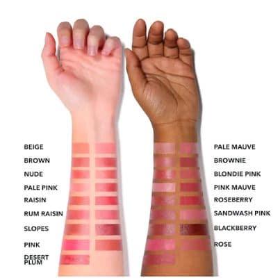 Bobbi Brown Lipstick Swatches
