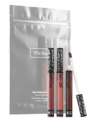 Kat Von D Nude Liquid Lipstick Trio