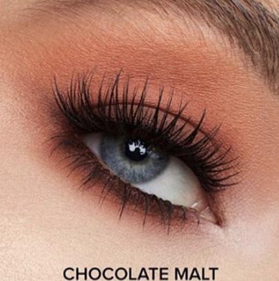 too faced melted chocolate matte liquid eyeshadow chocolate malt