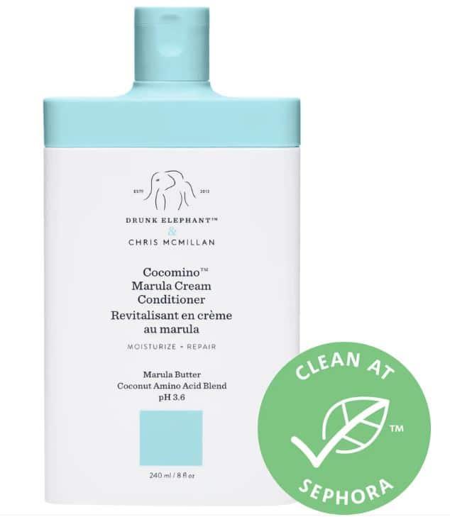 drunk elephant hair care Cocomino Marula Cream Conditioner review