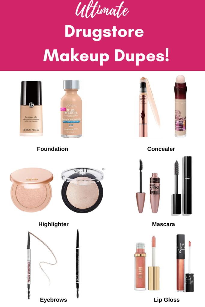 Ultimate Drugstore Luxury Makeup Dupes Beauty Reviews Daily