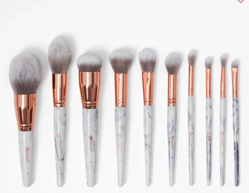 BH Cosmetics Marble Luxe Brush Sets