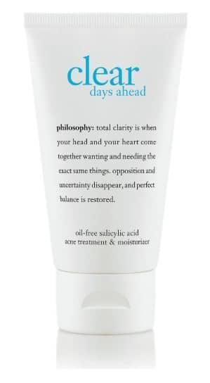 Philosophy acne regimen product review