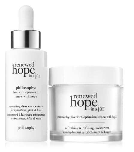 best philosophy products for dry skin