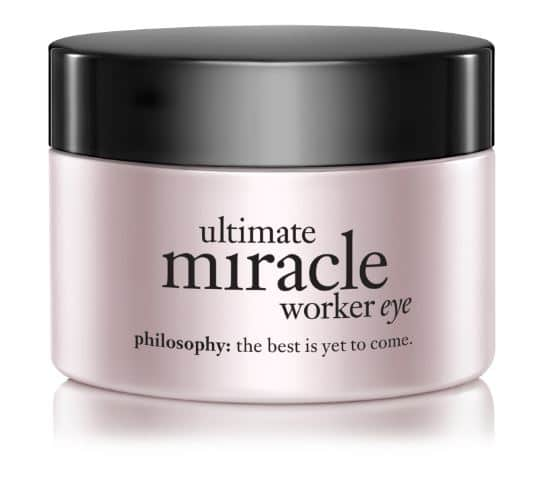 philosophy miracle worker eye cream review spf