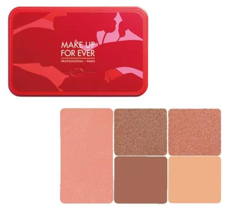 Make Up Forever Lunar New Year 2021 Face Colour Palette