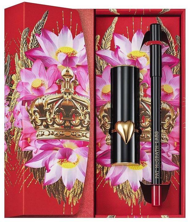 pat mcgrath lunar new year red lipstick lip liner 2021