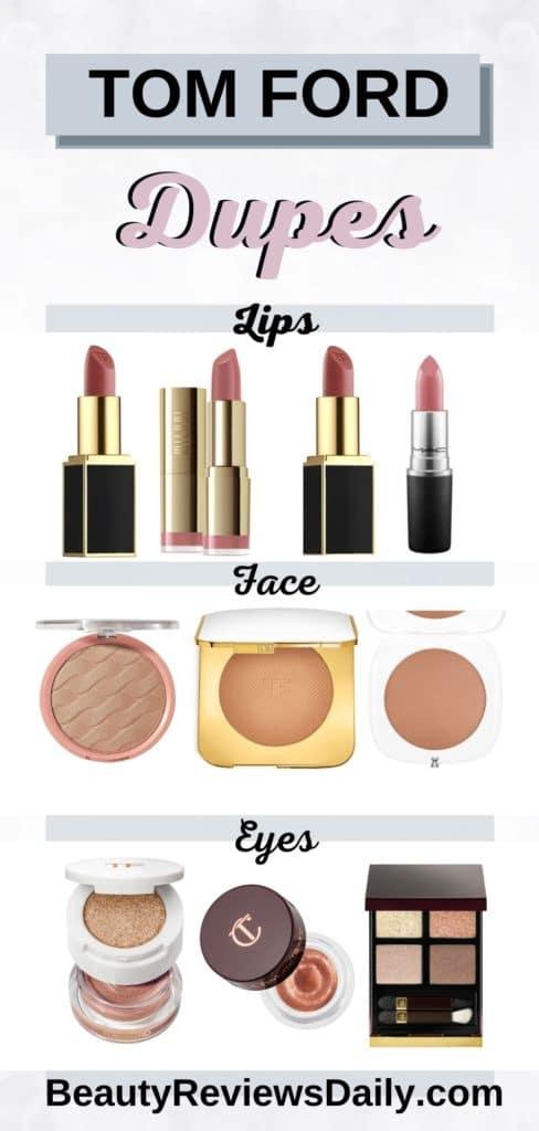Tom Ford Makeup Dupes