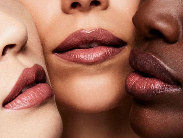 Tom Ford Indian Rose Swatches on Skin Tones
