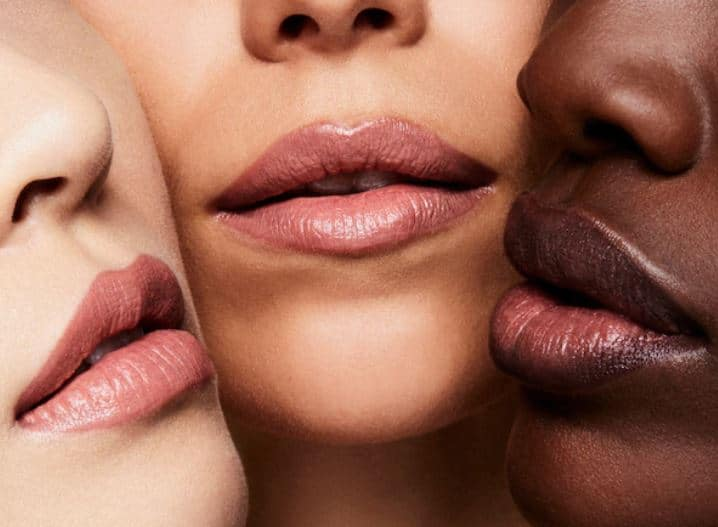 Tom Ford Pink Dusk Swatches on Skin Tones