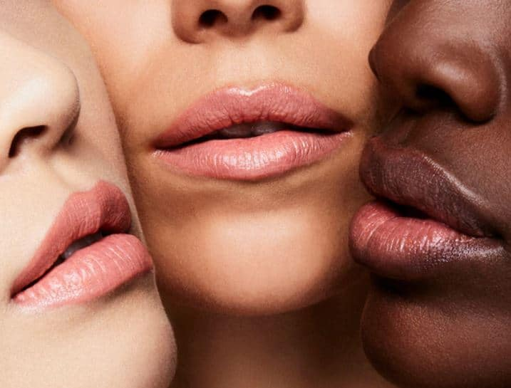 Tom Ford Spanish Pink Swatches on Skin Tones