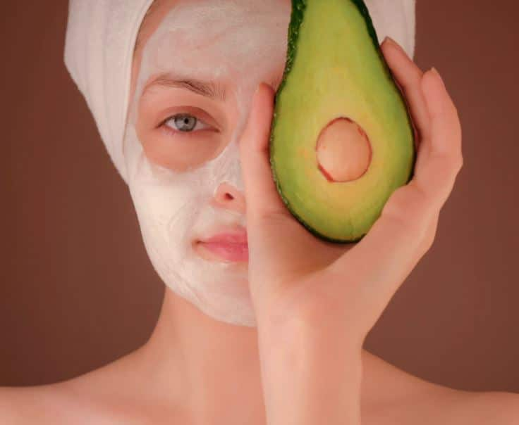 Avocado Face Mask Recipe for glowing skin