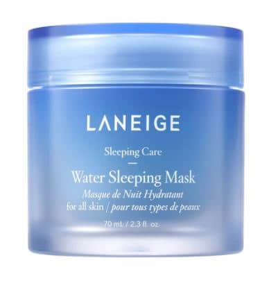 laneige water sleeping mask review and dupe
