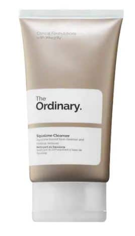 The Squalane Cleanser for the ordinary oily skincare routine
