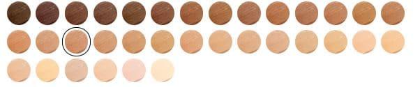 NARS Soft Matte Complete Foundation Shade Range