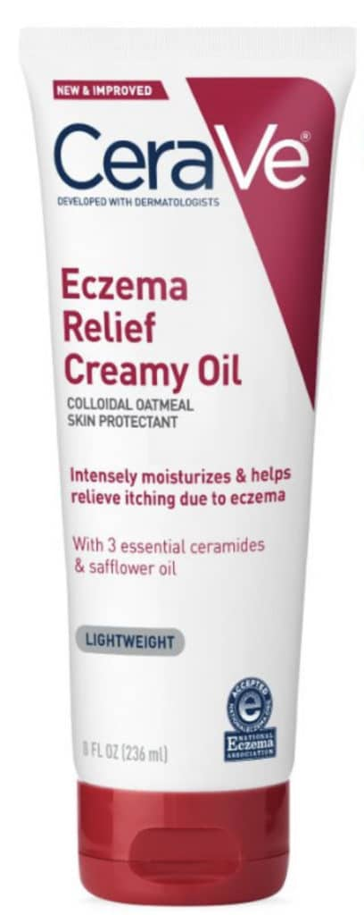 Cerave Eczema relief creamy oil review
