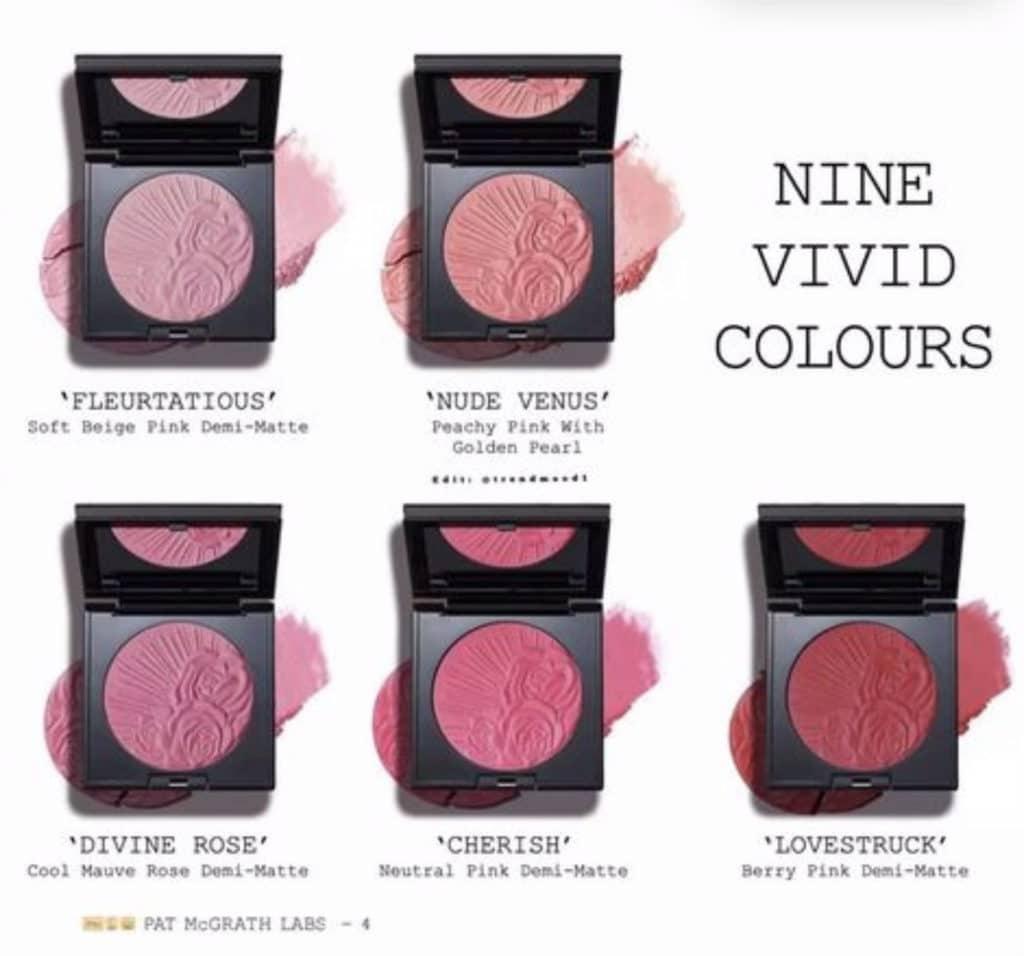 Pat mcgrath new divine blush collection launch