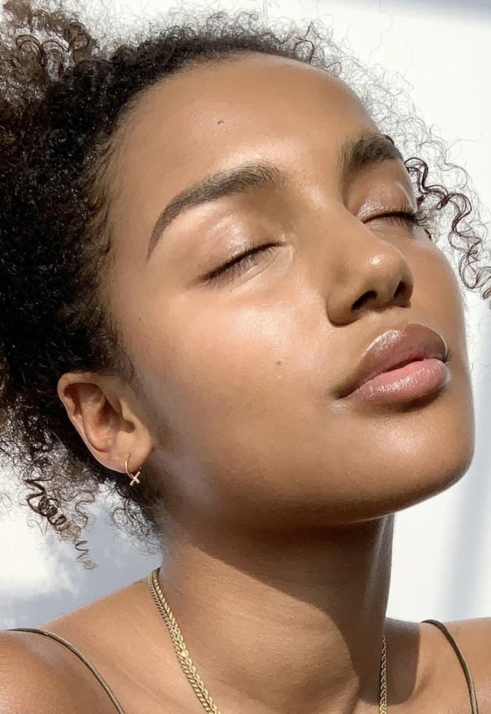 Glossier future dew skin set