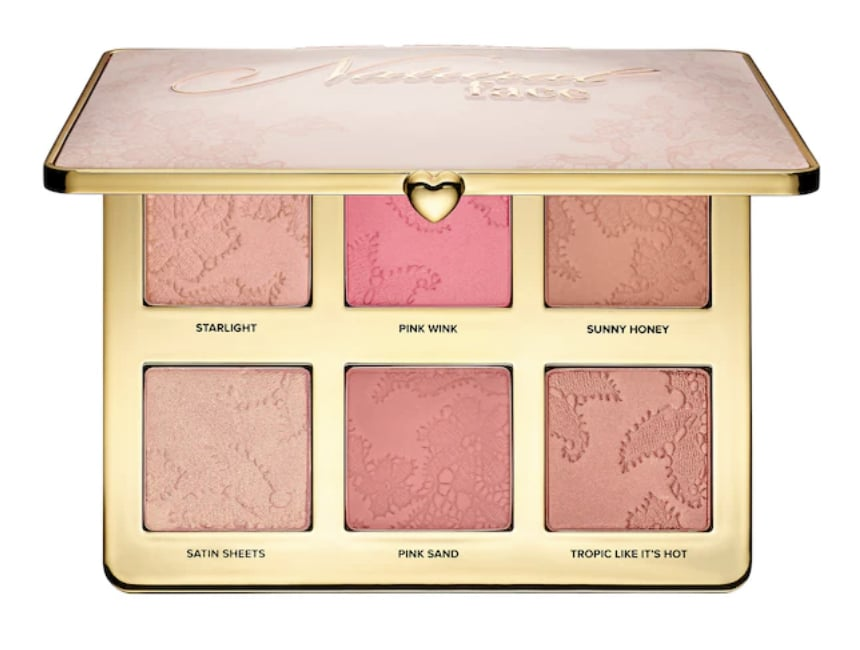 Blush palette TooFaced for club makeup