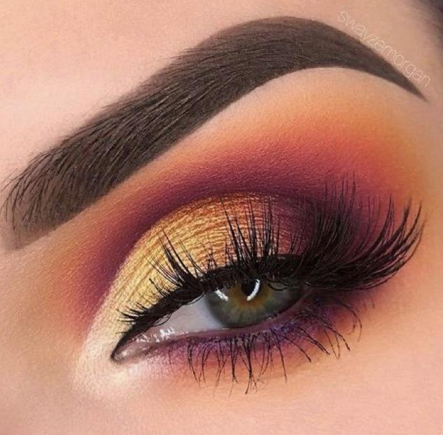 Club Makeup 2021 sunset eyes